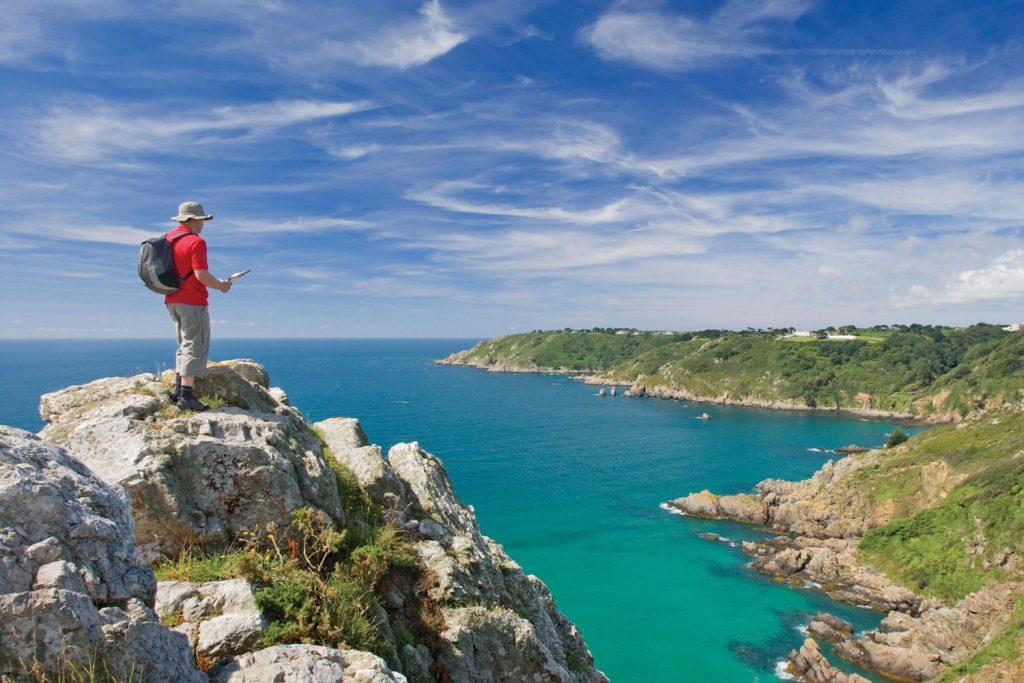 Wandern auf den Kanalinseln Jersey, Guernsey & Sark