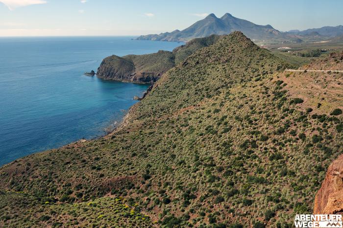 Küstenwandern am Cabo de Gata in Andalusien