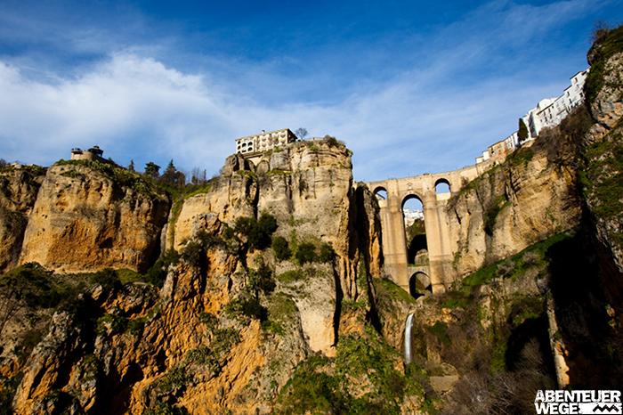 Die Kleinstadt Ronda in der Sierra de Grazalema