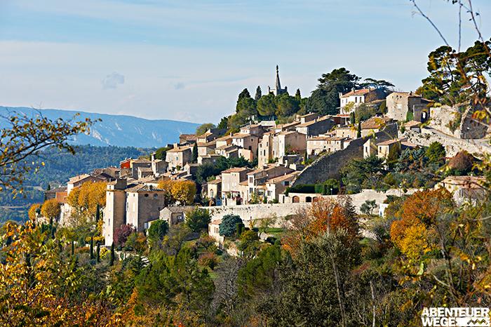 Bonnieux - ein provenzalisches Bilderbuchdorf im Herbst