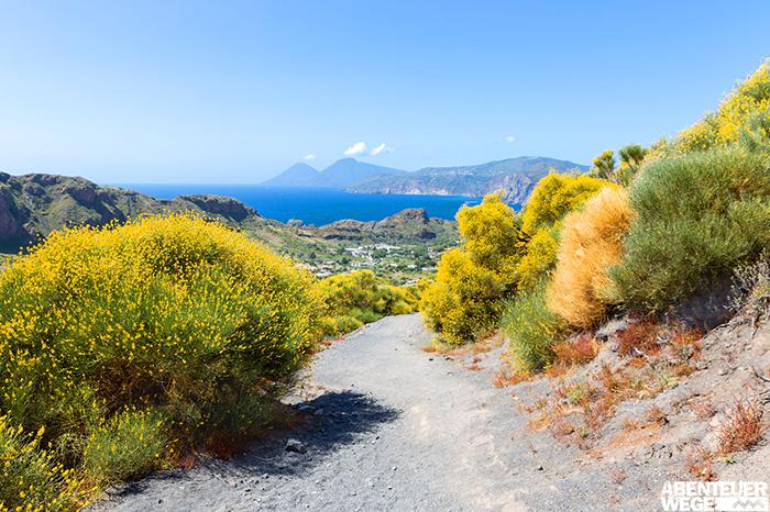 Vulkane im Blick - Wandern auf Sizilien und den Liparischen Inseln