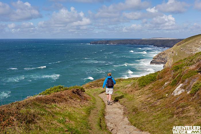 Küstenwanderungen in Cornwall