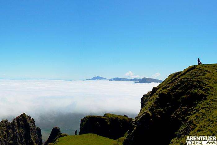 Nebelbank auf der Isle of Skye