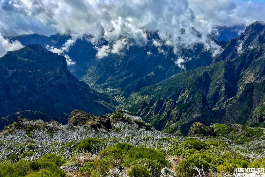 Wandern auf Madeira – sonniger Südwesten oder grüner Nordosten?