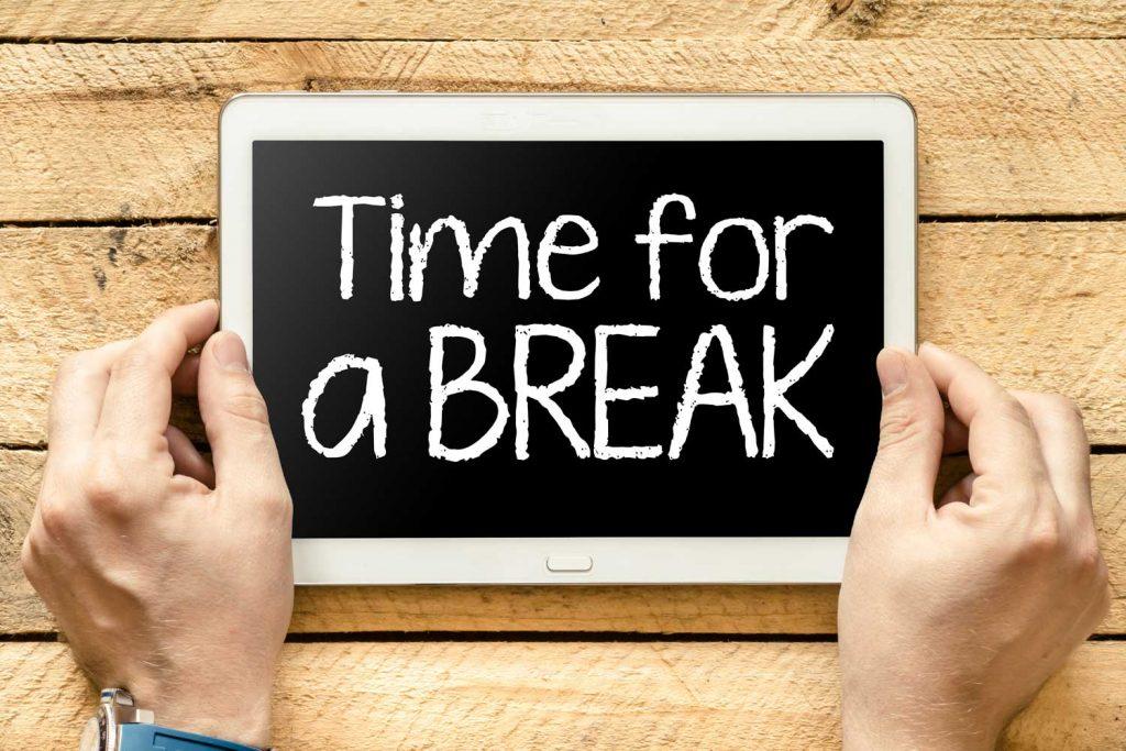 Weniger Stress durch eine digitale Auszeit