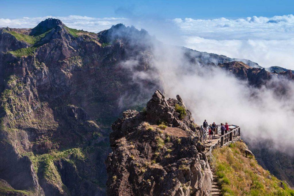 Aussichtspunkt auf dem Pico Arieiro - Madeira, Portugal