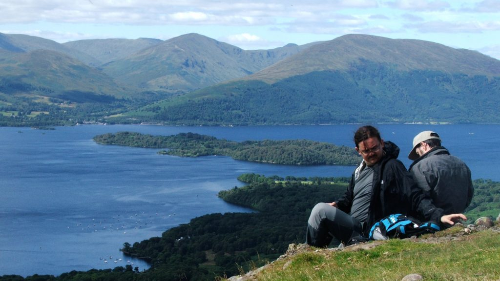 West Highland Way_ Pause Conic Hill