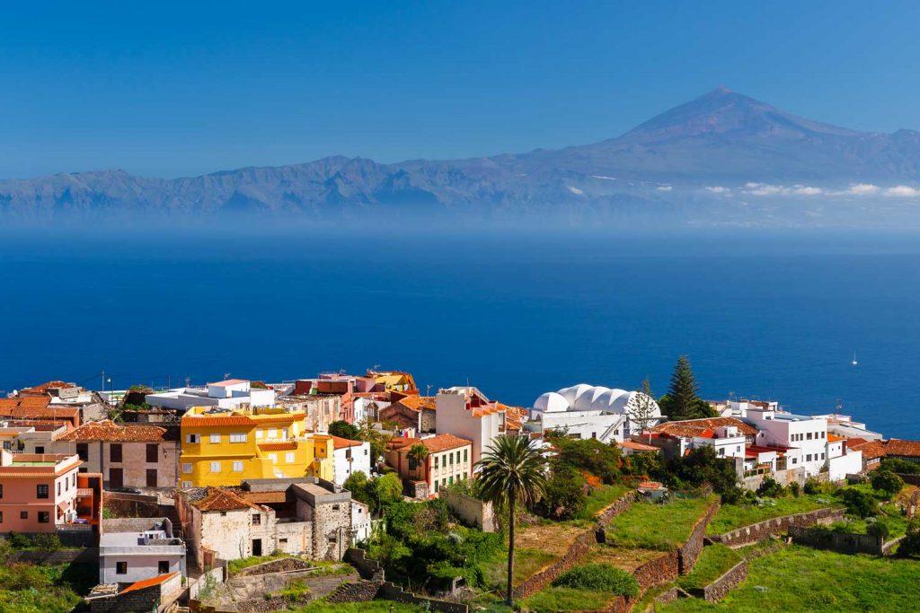 Aussicht nach Teneriffa & El Teide