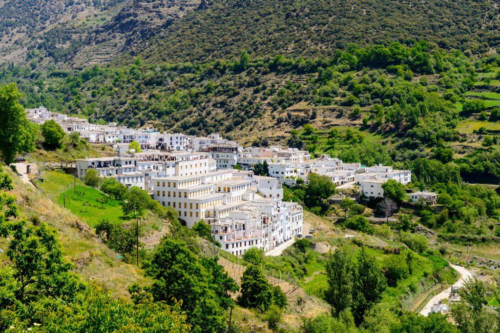 Trevelez, Las Alpujarras in der Sierra Nevada Südspanien