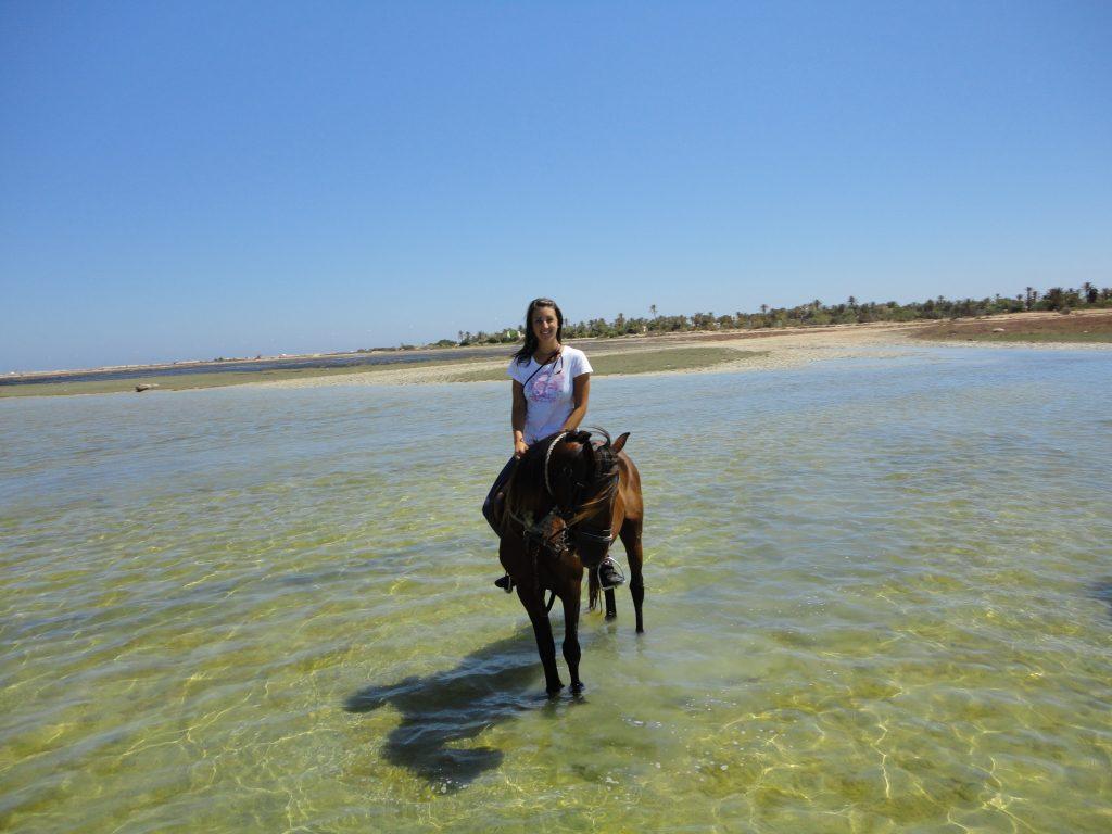 Julia auf Djerba