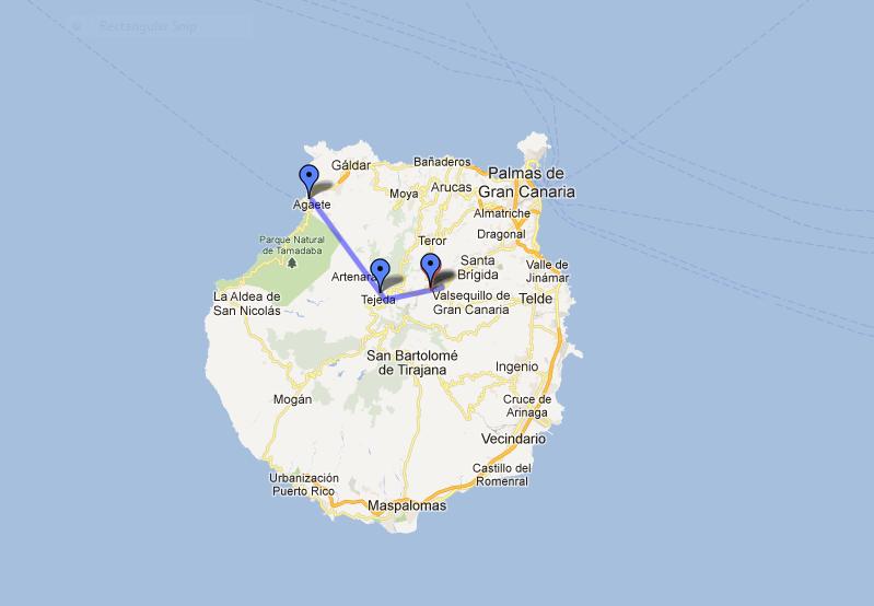 Gran Canaria - Wanderreise: Reiseverlauf