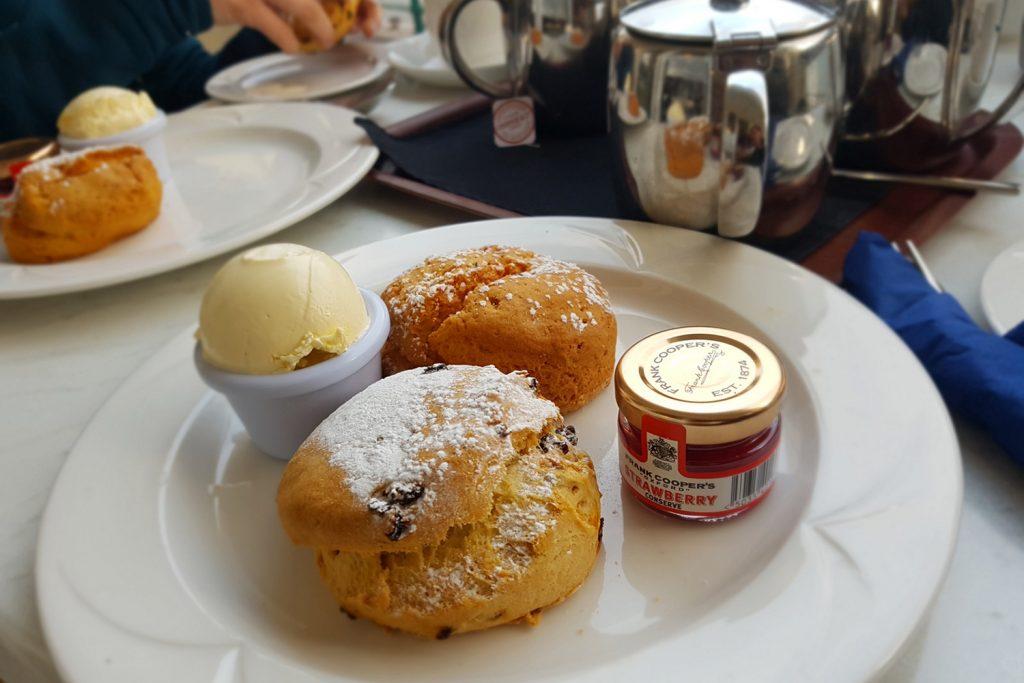 Teatime auf den Channel Islands