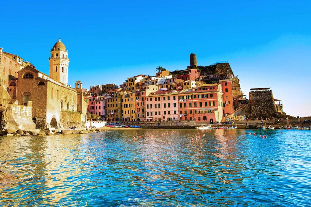 Bunte Dörfer der Cinque Terre