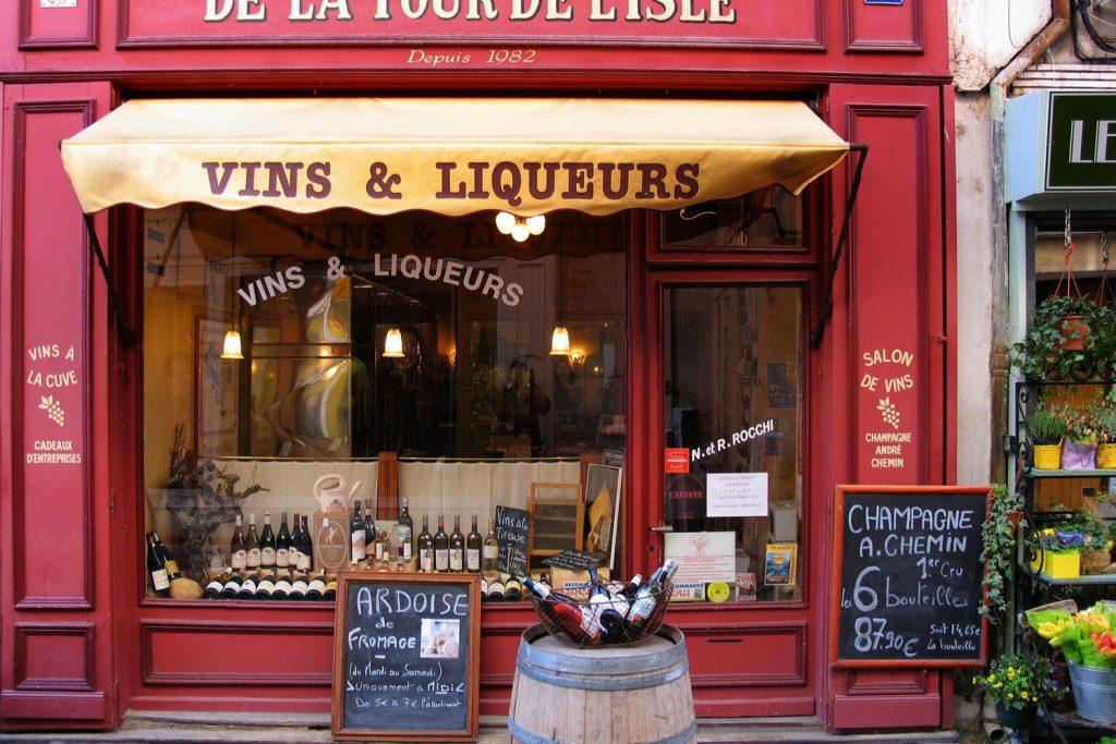 Leckere Weine in der Provence