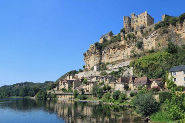 Sarlat in der französischen Region Nouvelle-Aquitaine, Département Dordogne