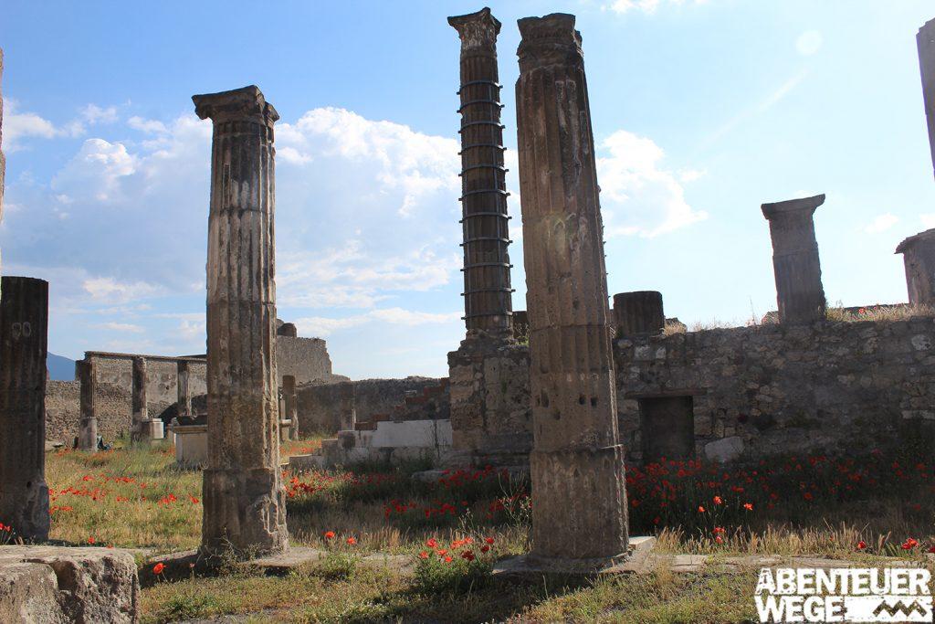 Ruinen von Pompeij