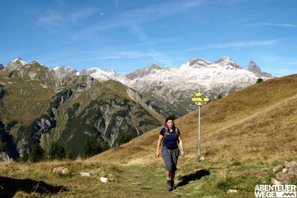 Zu Fuß über die Alpen - E5 von Oberstdorf nach Meran