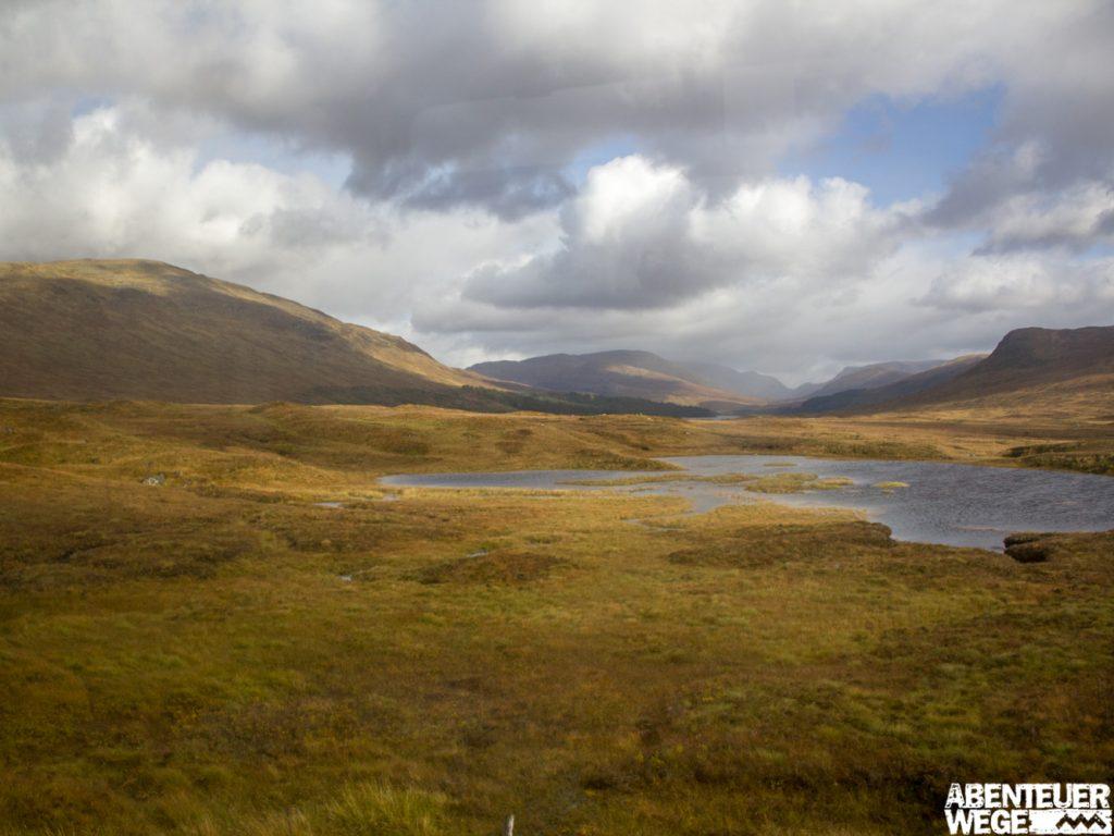 Mit der West Highland Line durchs Rannoch Moor